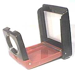 fold-up slide viewer